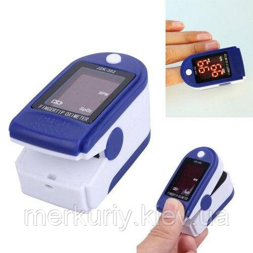 Пульсоксиметр Fingertip Pulse Oximeter | Пульсометр на палец | уценка
