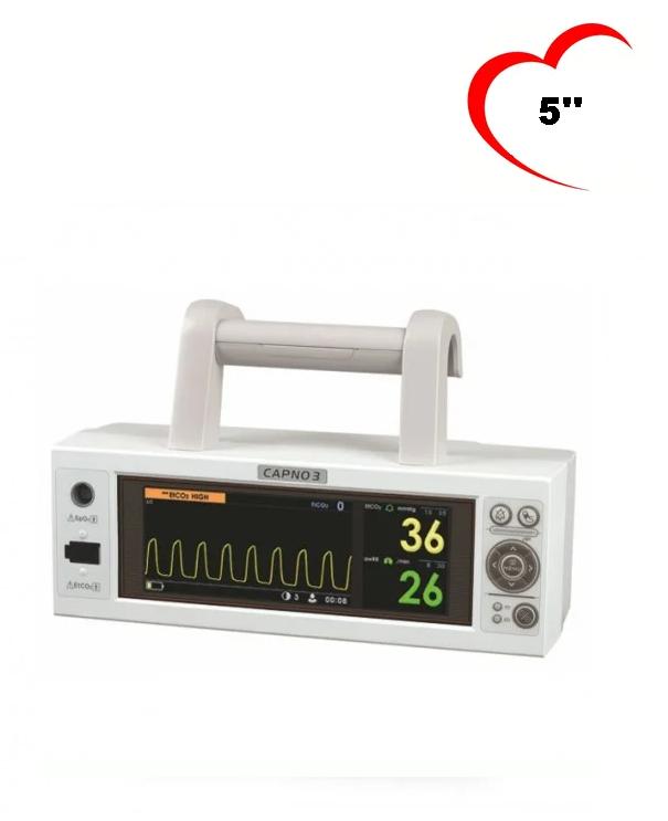 Монитор пациента переносной HEACO CX210 (CAPNO3) транспортный, портативный))