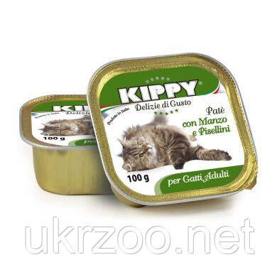 Влажный корм для кошек Kippy Cat 100 г (белое мясо)
