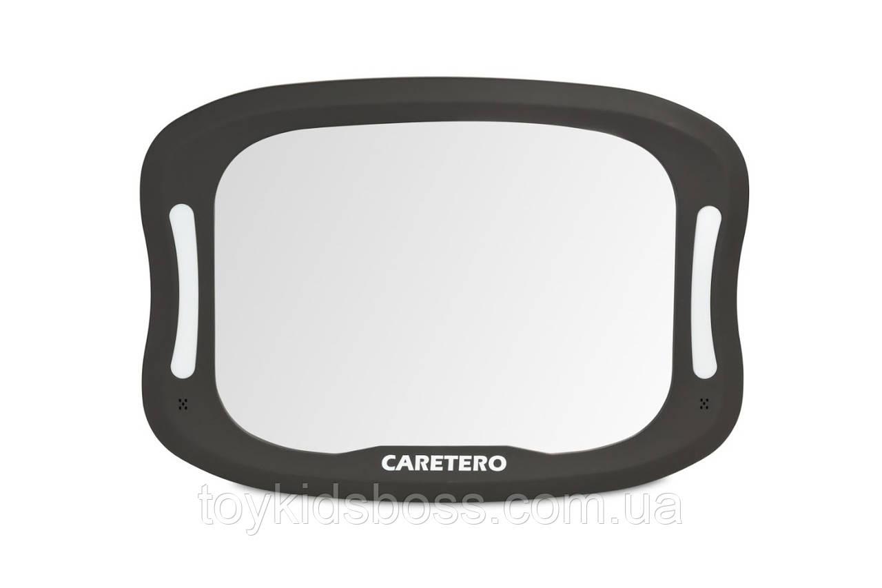 Дзеркало Caretero XL з підсвічуванням для спостереження за дитиною в автокріслі
