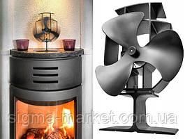 Вентилятор теплого Anslut воздуха на тепловую каминную печь NEW 2020