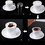 Трафареты для кофе, фото 3