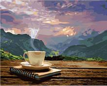 Утро с видом на горы ( GX24686). Картины по номерам 40×50 см.