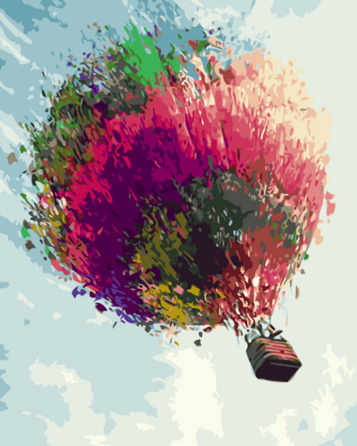 Воздушный шар (GX3355). Картины по номерам 40×50 см.
