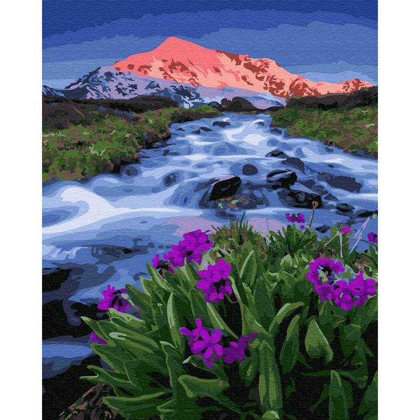 Весна у подножья гор (GX33321). Картины по номерам 40×50 см.