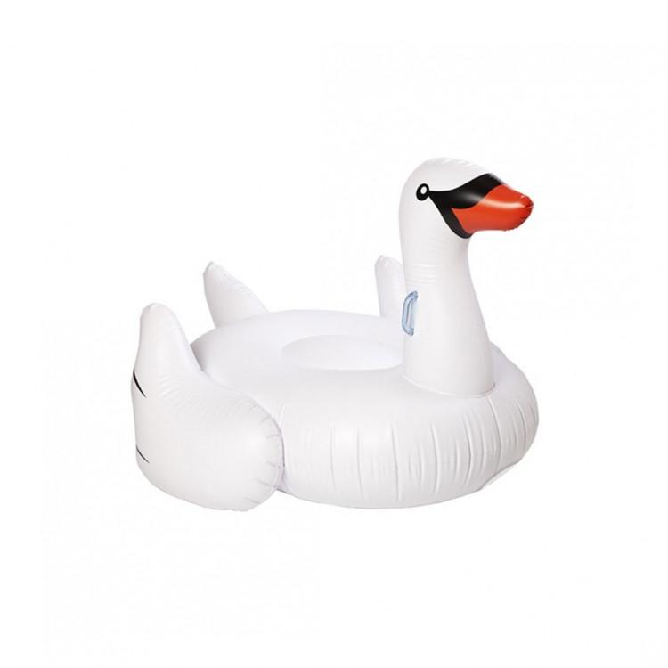 Надувной матрас-платформа Лебедь белый 190см