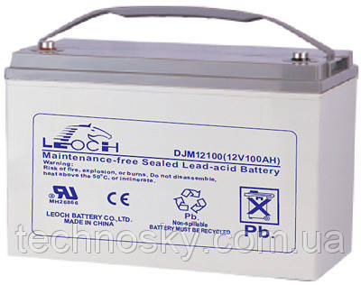 Мультигелевый аккумулятор AGM LEOCH DJM12100