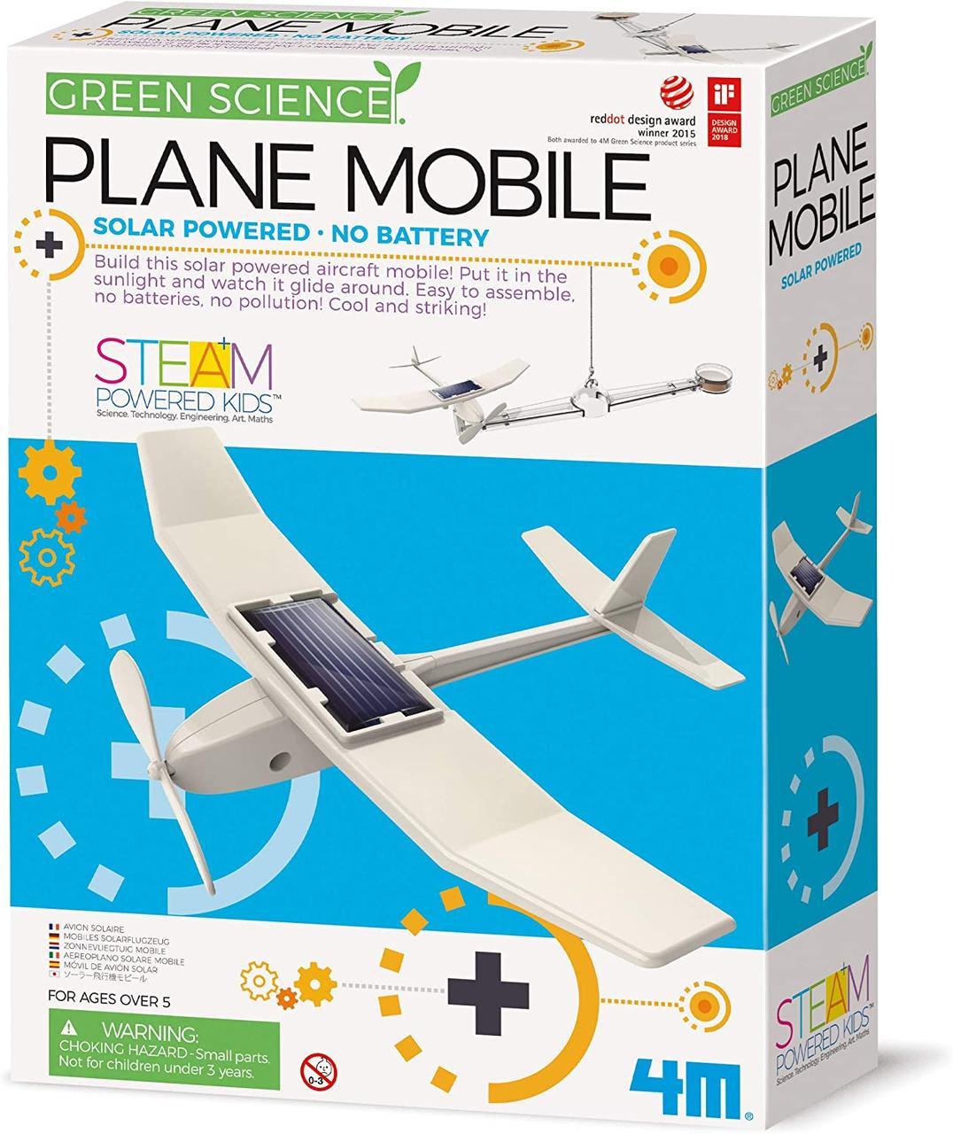 Набор для исследований Самолет на солнечной батарее 4M 00-03376