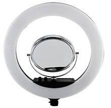 Лампа кольцевая светодиодная Professional RL18 X3 7357 с зеркалом