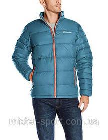 Мужская куртка Columbia Men's Frost-Fighter Puffer Jacket, Blue Heron Hot, Pepper размер XL