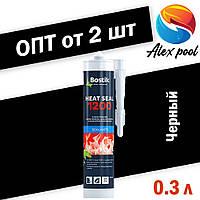 Bostik Heat Seal 1200 - герметик термостойкий черный, 0.3 л