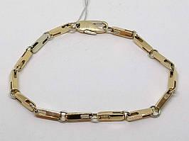 Золотой браслет с бриллиантом. Артикул 790005Б 21