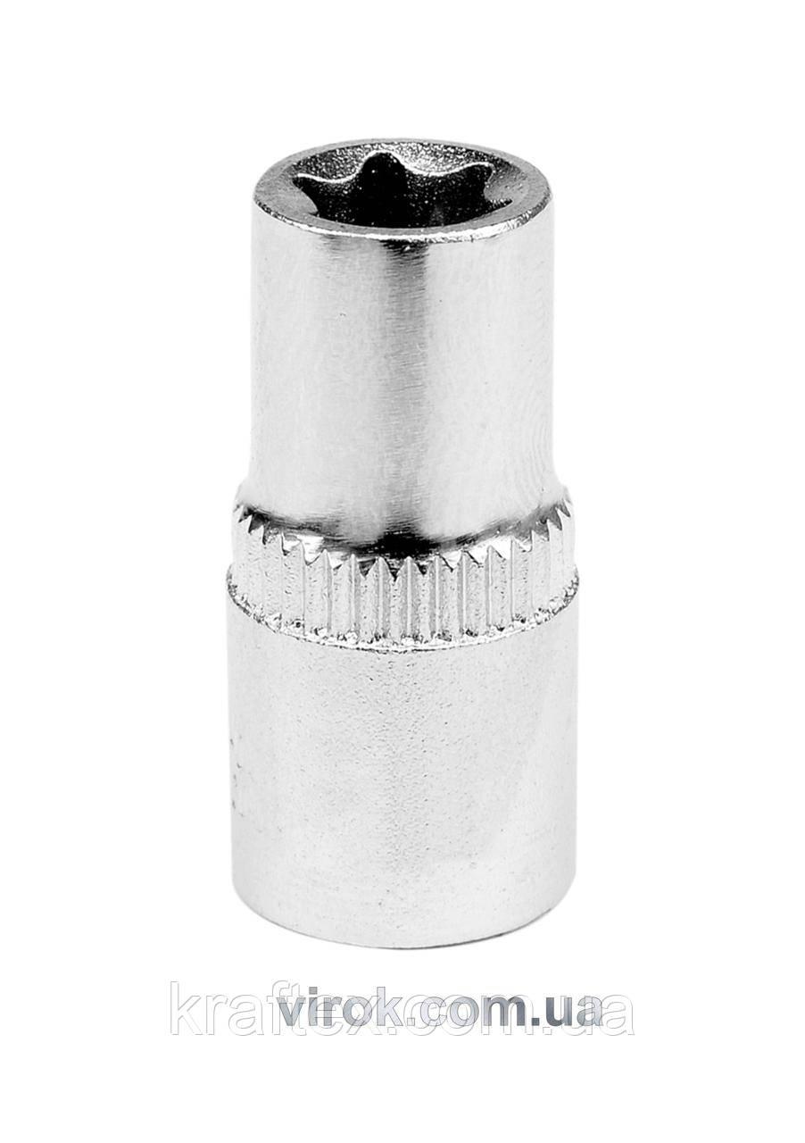 """Головка торцева TORX YATO 1/4"""" Е6 x 25 мм (YT-05213)"""