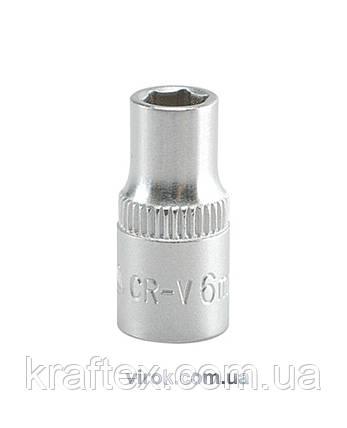 """Головка торцева шестигранна YATO 1/4"""" М6 х 25 мм (YT-1405), фото 2"""