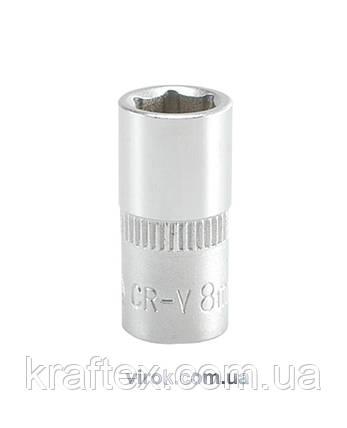 """Головка торцеві шестигранна YATO 1/4"""" М8 х 25 мм (YT-1407), фото 2"""