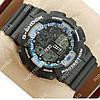 Часы спортивные наручные Casio GA-100 Black/Black/Blue 618