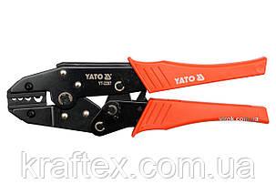 Кліщі для обтискання і зачистки проводів YATO 230 мм (YT-2297), фото 2