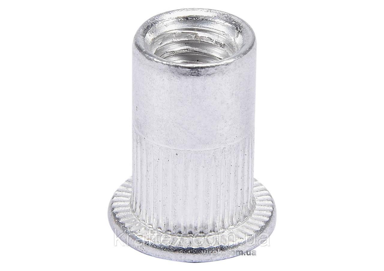 Нітогайка алюмінієва YATO М6 х 14 мм 20 шт (YT-36454)