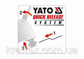 Пили-насадки для реноватора YATO Bi-Metal 40 x 28.5 мм 3 шт (YT-34684), фото 2