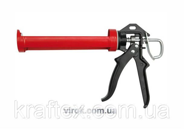 Пістолет для герметика YATO 225 мм (YT-6751), фото 2