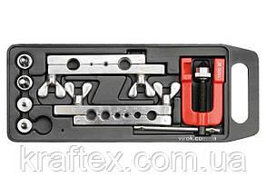Прес для ручного розширення труб YATO 3-19 мм з аксесуарами 7 шт (YT-2180), фото 2