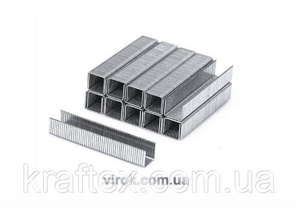 Скоби для степлера YATO 10 х 10.6 х 1.2 мм 1000 шт (YT-7024), фото 2