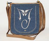Женская сумка планшет с логотипом Майкла Джексона золото