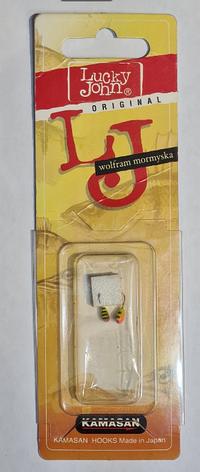 Мормышка вольфрамовая Salmo LJ Капля 802030-34/2 с отверстием (2шт), фото 2