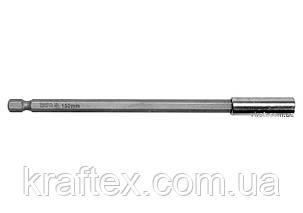 """Магнітний тримач для викруткових насадок YATO 1/4"""" 150 мм (YT-04681), фото 2"""
