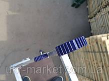 Стремянка с поручнями профессиональная на 8 ступеней алюминиевая, фото 3