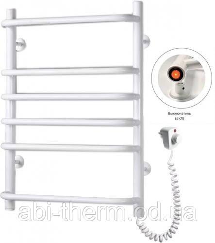 Полотенцесушитель Стандарт-6 белый 630x480 (правое подключение)