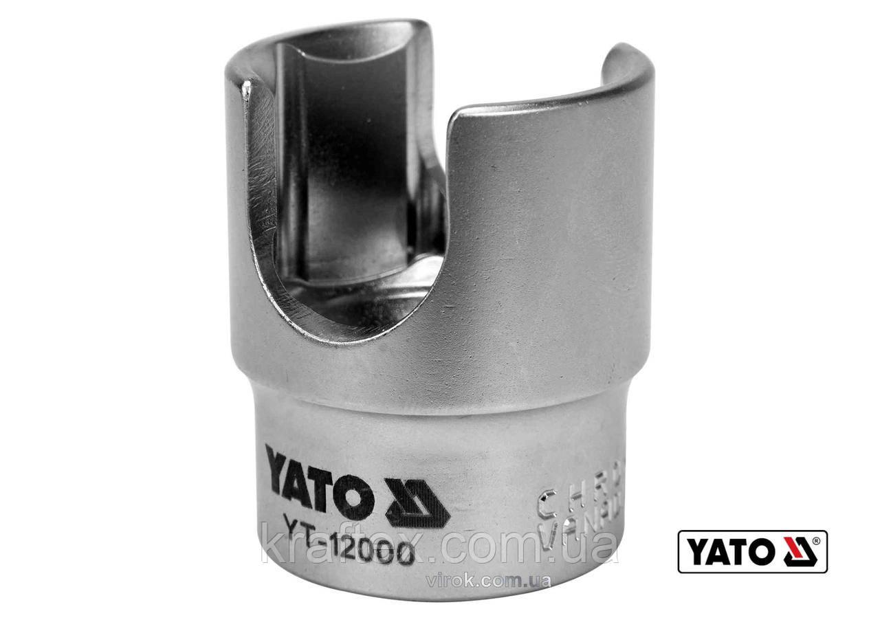 """Головка торцеві до паливного фільтру YATO 1/2"""" М27 мм Cr-V (YT-12000)"""