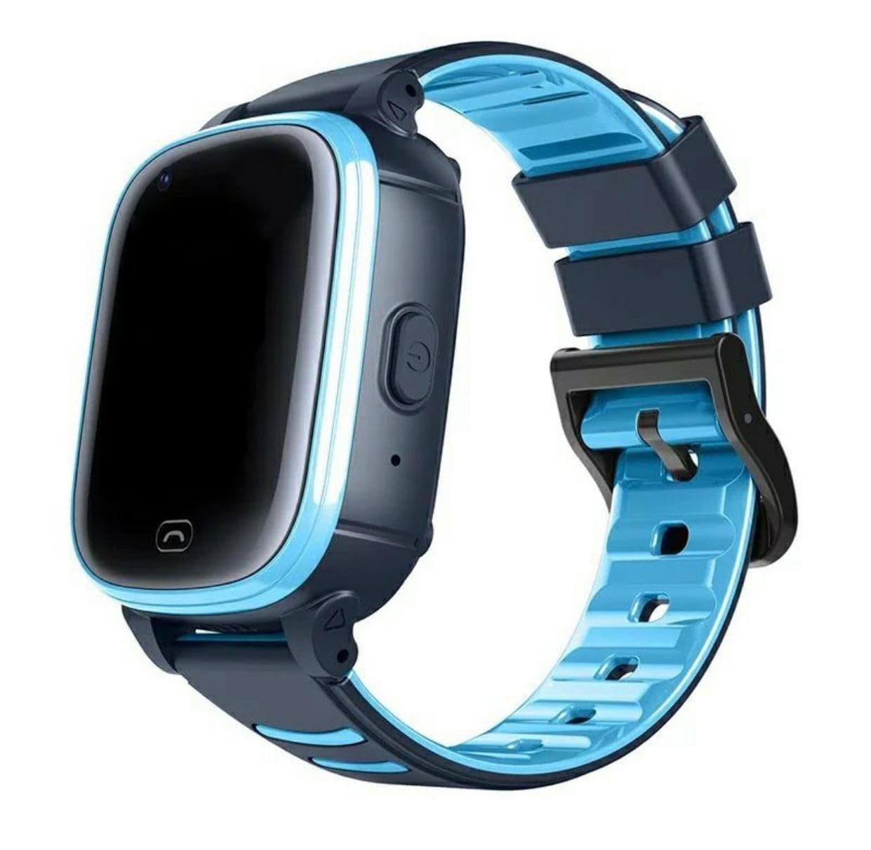 Умные детские часы Smart baby watch A80 Blue 4G видеочат GPS WiFi ip67