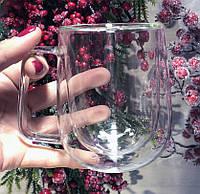 Чашки з подвійними стінками і подвійним дном 305 мл