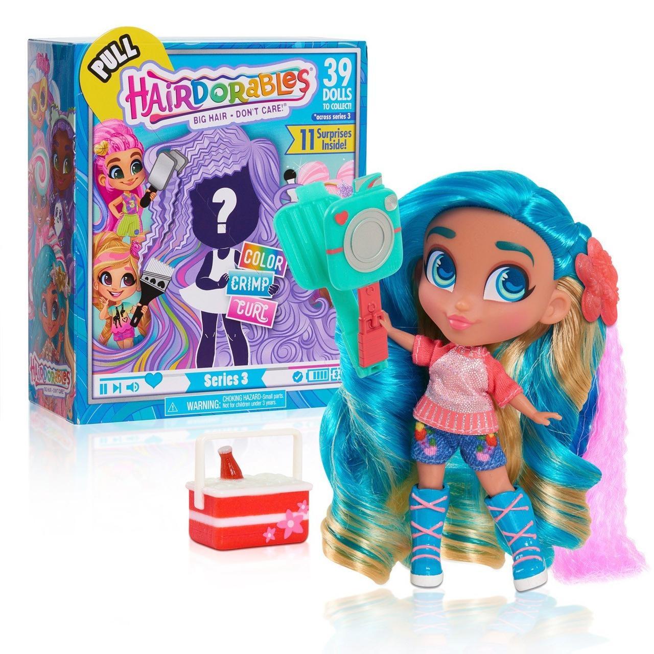 """Игрушка кукла-загадка Hairdorables Dolls серия - """"Яркие вечеринки"""""""
