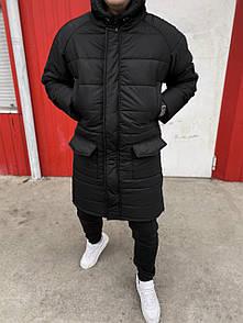 Чоловіча Куртка зимова Arctica Black (подовжена)