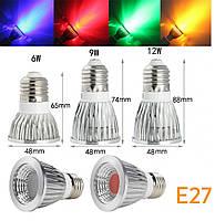 Світлодіодна лампа MR16 GU 5.3 LED 3W RGBW 220V +пульт, фото 3