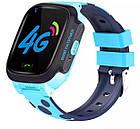 Умные детские часы Smart baby watch Y95 Pink 4G видеочат GPS WiFi, фото 9
