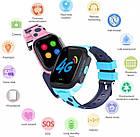 Умные детские часы Smart baby watch Y95 Pink 4G видеочат GPS WiFi, фото 5