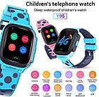 Умные детские часы Smart baby watch Y95 Pink 4G видеочат GPS WiFi, фото 7