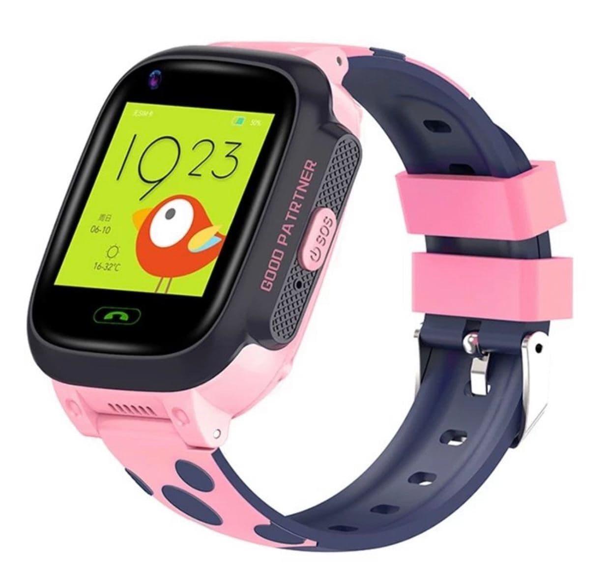 Умные детские часы Smart baby watch Y95 Pink 4G видеочат GPS WiFi