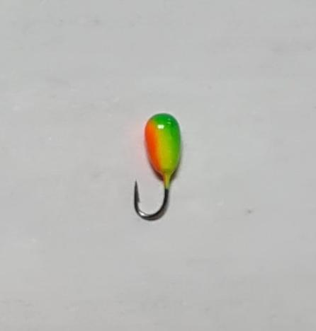 Мормышка вольфрамовая Salmo LJ Капля 802025-55/2 с отверстием (2шт)