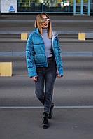 Женская стильная куртка на холофайбере, фото 1