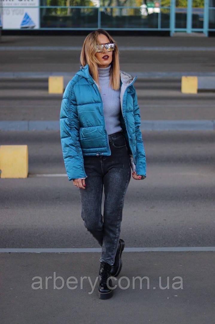 Женская стильная куртка на холофайбере