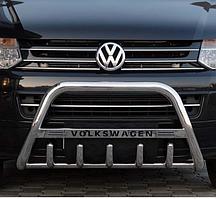 Кенгурятник WT на Volkswagen Crafter (c 2006--) Фольксваген Крафтер PRS