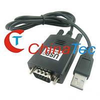 Конвертер адаптер USB в RS232 DB9 PL2303HX