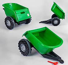 Прицеп к педальным тракторам Pilsan Trailer 07-295 зеленый