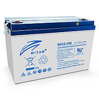 Гелевый аккумулятор RITAR DG12-100 12V 100Ah