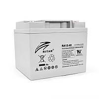 Аккумуляторная батарея AGM RITAR RA12-40 12V 40Ah