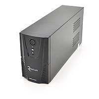 ИБП Ritar  RTP650L-UX-IEC (390W) Proxima-L, LED, AVR, 3st, USB, 4xIEC-320 C14, 145-290Vac, 1x 12V 7Ah